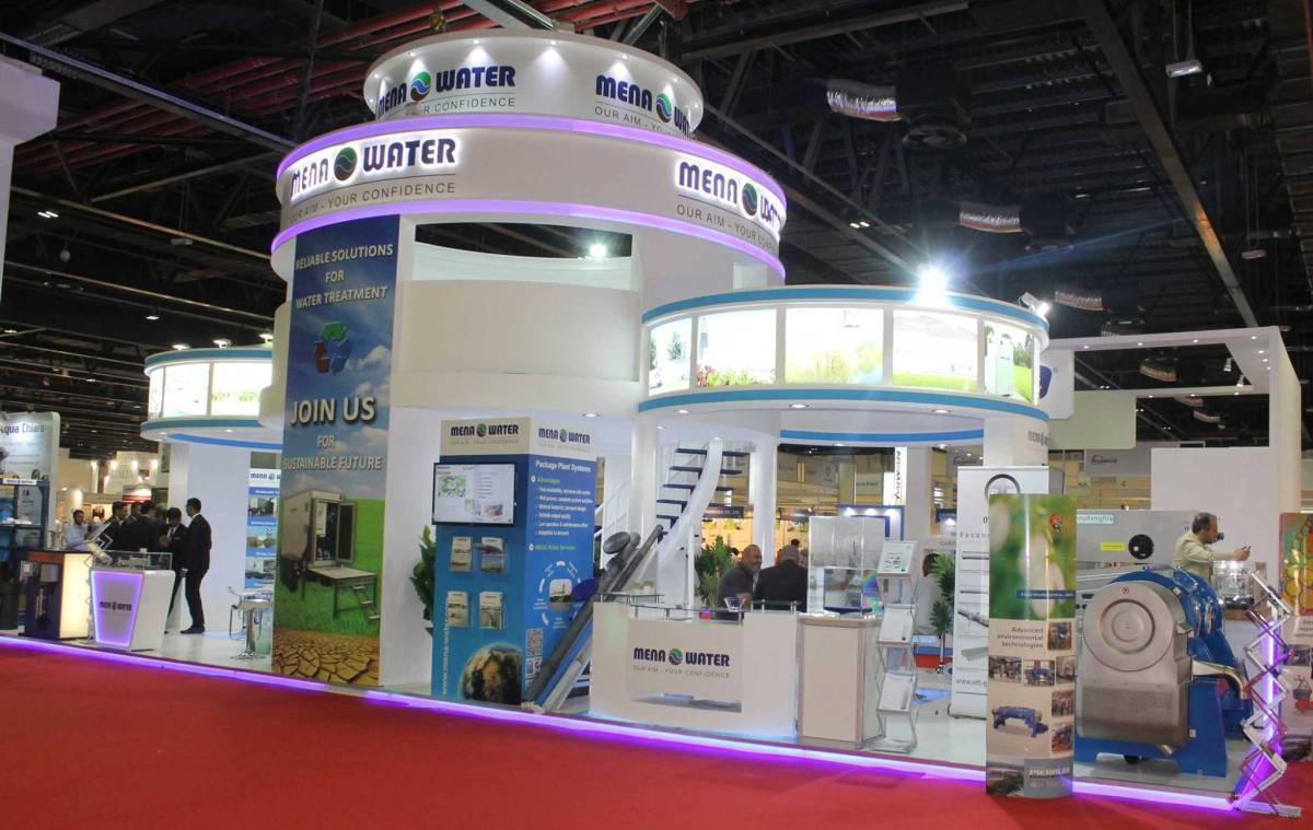 Exhibition Stand Water Features : Wetex exhibition dubai water and wastewater treatment