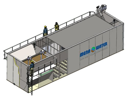 Mbbr Package Plants Water And Wastewater Treatment