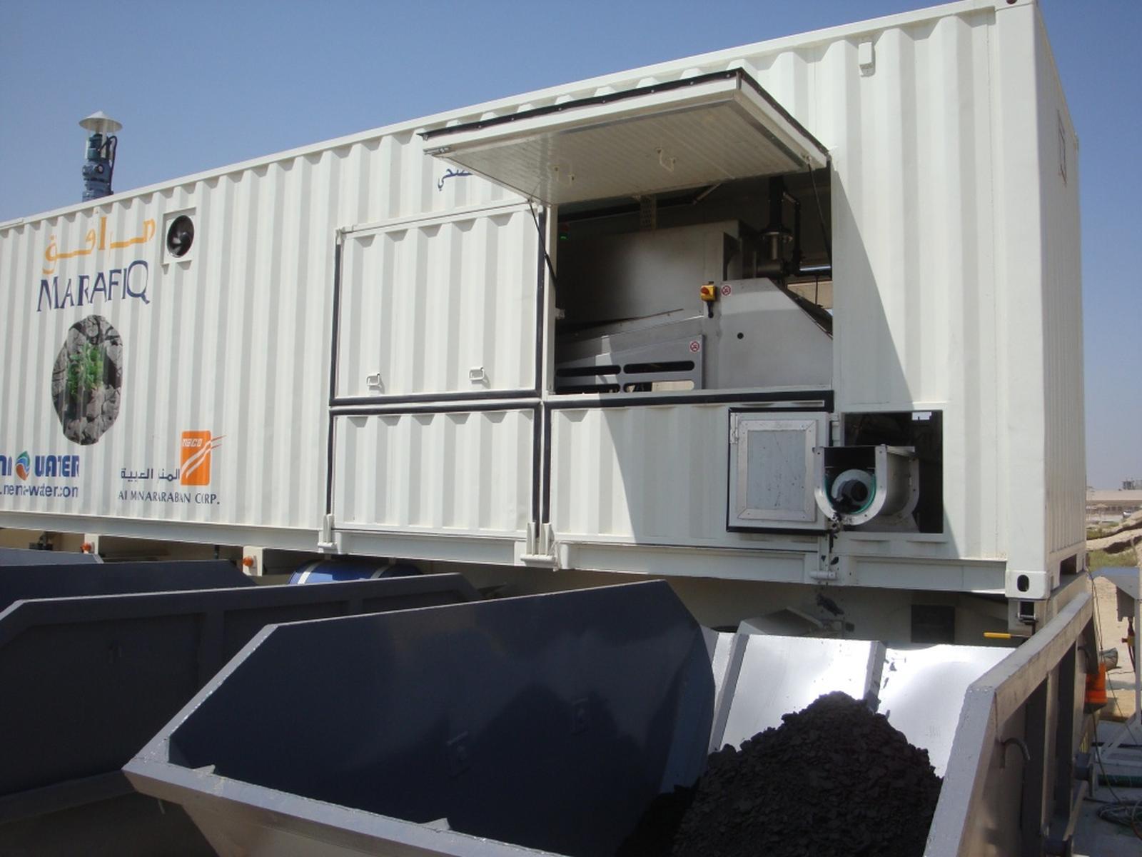 Containerized Sludge Dewatering Water And Wastewater